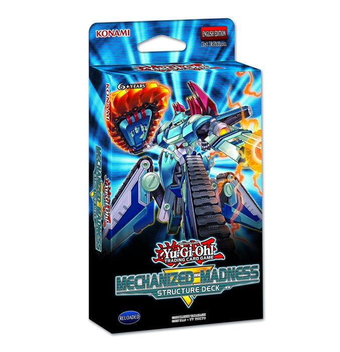 Yu-Gi-Oh! - Mechanized Madness Structure Deck
