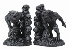 8464 Werewolf Bookends