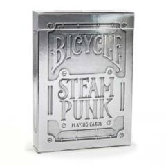 Bicycle Steam Punk Playing Cards - Silver