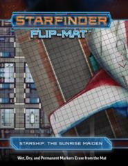 Starfinder Flip-Mat - Starship Sunrise Maiden