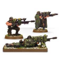 WH40K - Catachan Snipers (metal 3)