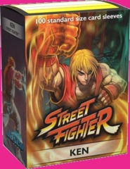 Dragon Shield Sleeves: Classic Art - Street Fighter - Ken(100)