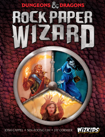 Dungeons & Dragons: Rock Paper Wizard - Board & Card Games
