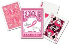 Bicycle Breast Cancer Awareness Playing Cards
