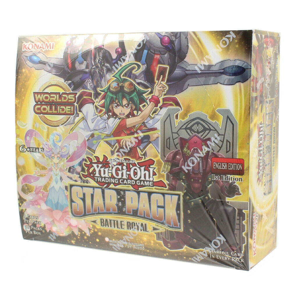 Yu-Gi-Oh! - Star Pack Battle Royal Booster Box