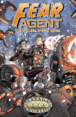 FEAR Agent - The Roleplaying Game