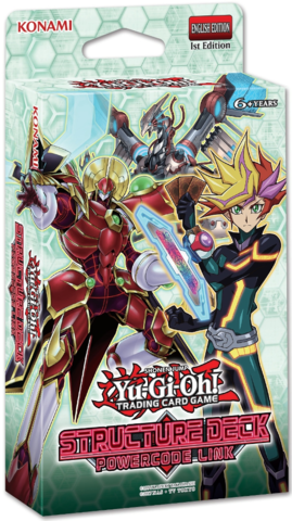 Yu-Gi-Oh - Powercode Link Structure Deck
