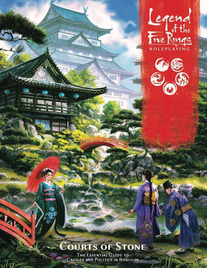 L5R08 Legend of Five Rings: Courts of Stone