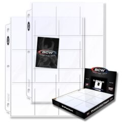 BCW - 9-Pocket Pages (100 ct)