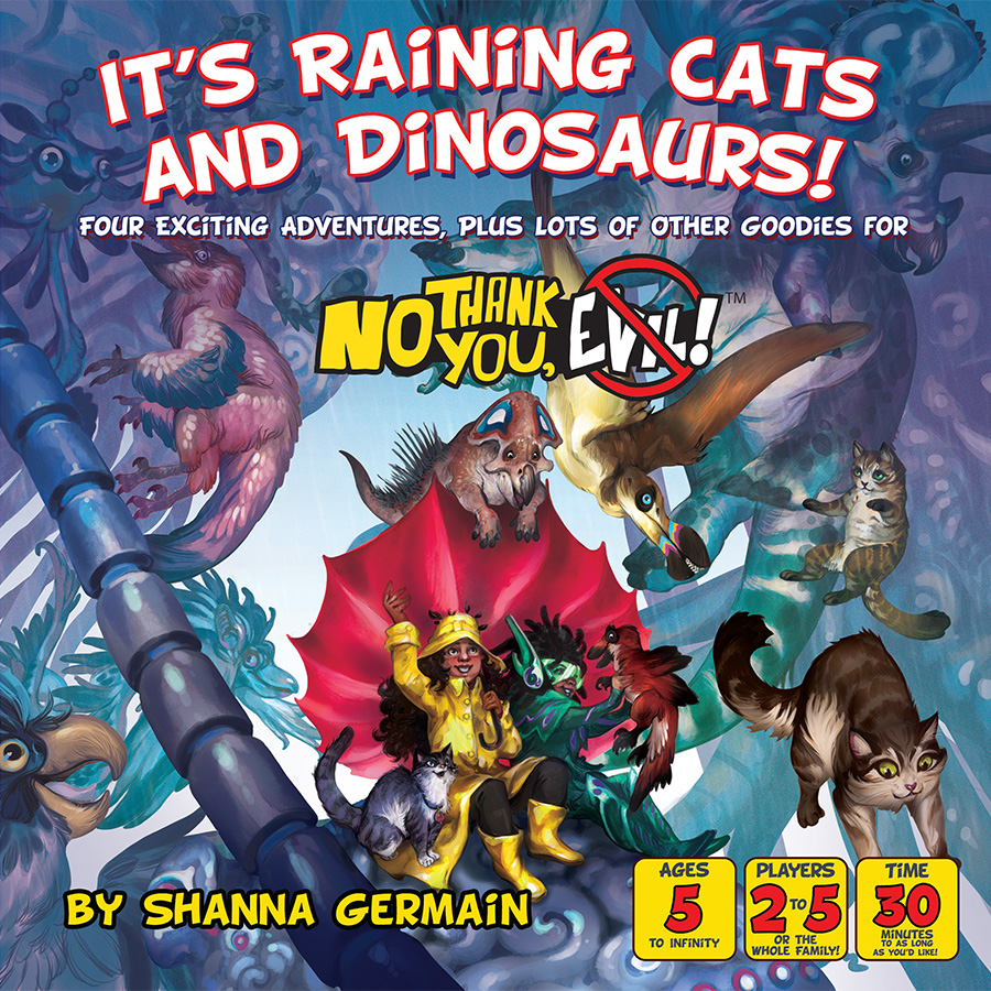 No Thank You, Evil - Its Raining Cats and Dinosaurs