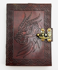2967 - Celtic Dragon Head Journal