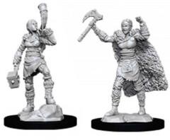 WZK 90056 - Female Human Barbarian