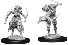 WZK 73339 - Dungeons & Dragons: Nolzur's Marvelous Unpainted Miniatures - Tiefling Female Rogue (2)