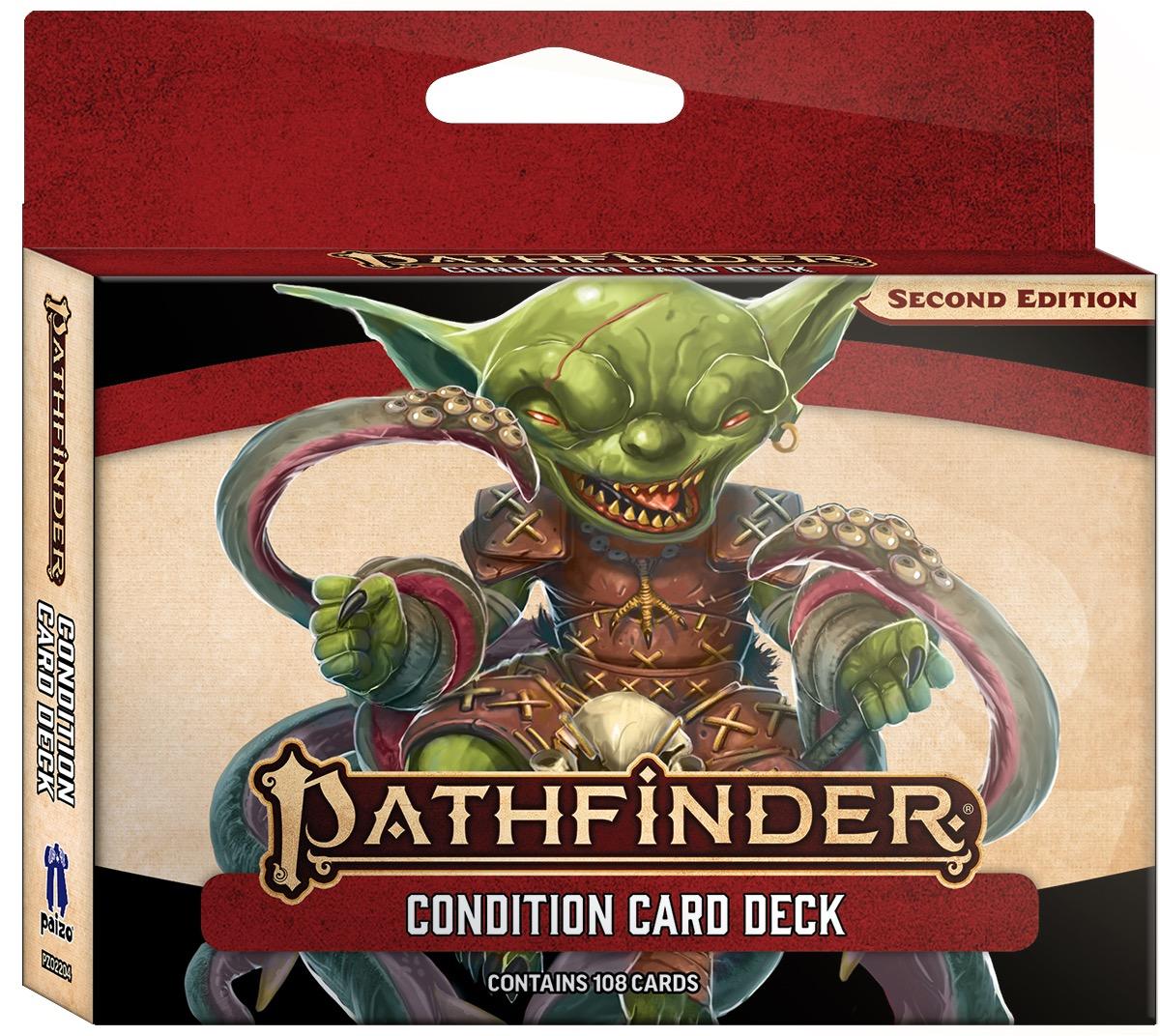 Pathfinder 2E - Condition Card Deck