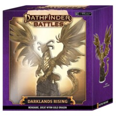 Pathfinder Battles - Darklands Rising - Mengkare, Great Wyrm Gold Dragon