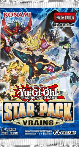Yu-Gi-Oh! - Star Pack VRAINS Booster Pack