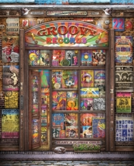 1000 Groovy Records Jigsaw Puzzle