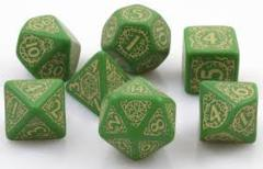 Pathfinder Dice Set Jade Regent