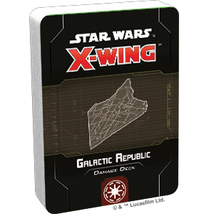 X-Wing Second Edition: Galactic Republic Damage Deck