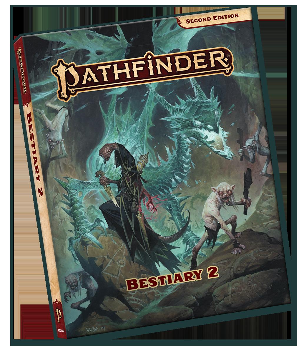 Pathfinder 2E - Bestiary 2 Pocket Edition 2104-PE