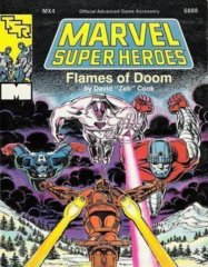 Marvel Super Heroes MX4 - Flames of Doom 6888