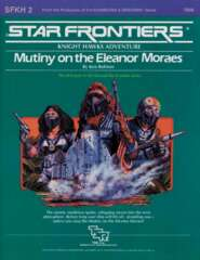 Star Frontiers SFKH2 - Mutiny on the Eleanor Moraes 7808