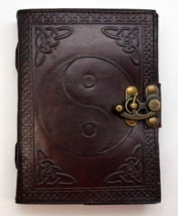 2887 - Leather Journal Ying Yang