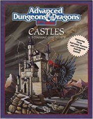 AD&D 2E - Castles 3 Dimensional Game Accessory 1056