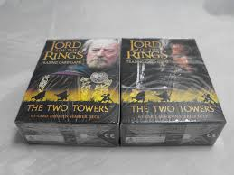 LOTR-TCG 2x Starter Decks: Aragorn & Theoden, Two Towers