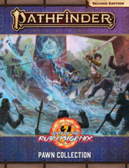 Pathfinder RPG: Pawns - Fists of the Ruby Phoenix Pawn Collection (P2)