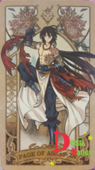 Fate/Grand Order Tarot Card - Page of Assassin: Yan Qing