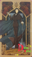 Fate/Grand Order Tarot Card - Knight of Extra: Sherlock Holmes