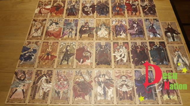 Comiket Fate Grand Order Tarot Cards Fate/Journey Minor Arcana (34 cards)