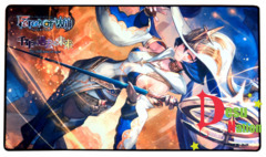 Force of Will Zero, the Flashing Mage-Warrior (Millennia of Ages) Playmat