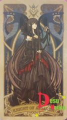 Fate/Grand Order Tarot Card - Knight of Assassin: Semiramis