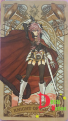 Fate/Grand Order Tarot Card - Knight of Rider: Astolfo