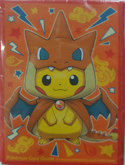 Pokemon Charizard Hoodie Pikachu Sleeves