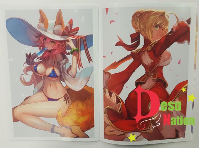 Flagments Order (Fate/GO Doujin Artbook)