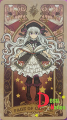 Fate/Grand Order Tarot Card - Page of Caster: Nursery Rhyme