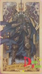 Fate/Grand Order Tarot Card - King of Assassin: