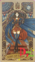 Fate/Grand Order Tarot Card - King of Caster: Leonardo Da Vinci