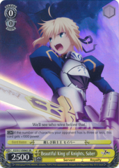 Beautiful King of Knights, Saber - FZ/S17-E006S - SR