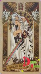 Fate/Grand Order Tarot Card - Queen of Saber: Attila