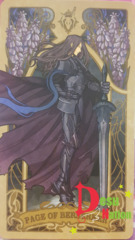 Fate/Grand Order Tarot Card - Page of Berserker: Lancelot