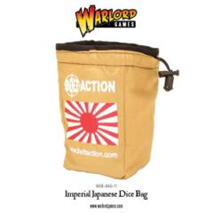 Bolt Action Japanese Dice Bag and Order Dice (White)