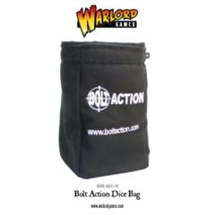 Bolt Action Dice Bag and Order Dice (Black)