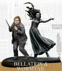 Harry Potter Miniature Game: Bellatrix & Wormtail