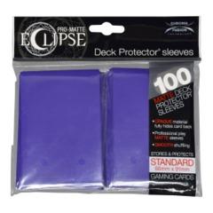 Pro Matte Eclipse Royal Purple Sleeves (100)
