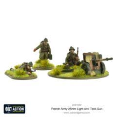 French Army 25mm Light Anti-Tank Gun