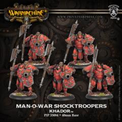Man-O-War Shocktroopers Unit (plastic)
